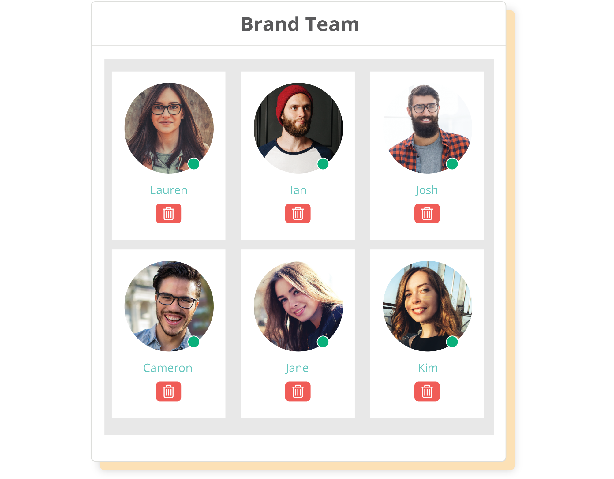 Easily manage all your teams and projects